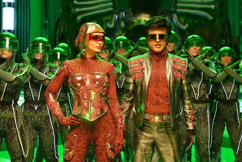 here is the  unknown facts  about  '2.0' film