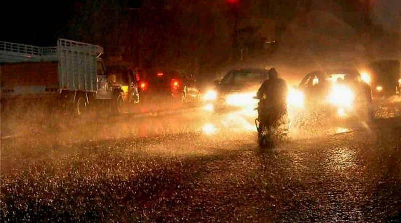Heavy Rain fall  forecast  in West Bengal due to deep depression RTB