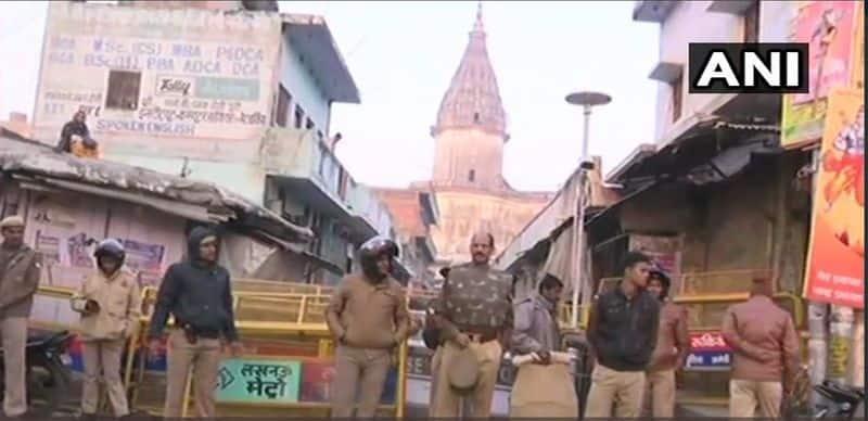ayodhya ram mandir vishwa hindu parishad dharam sabha muslims shiv sena uddhav thackeray tight security arrangements