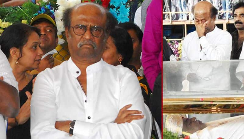 rajini not come and see the delta places raising questions