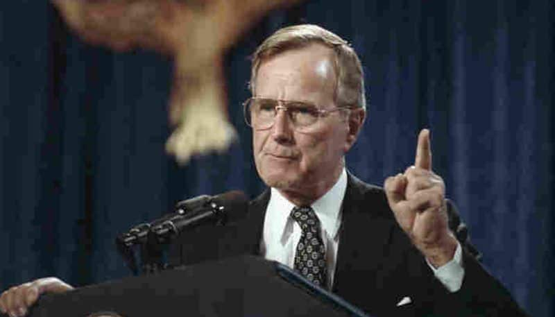 Geroge HW Bush, who led the US in Gulf War, dies at 94