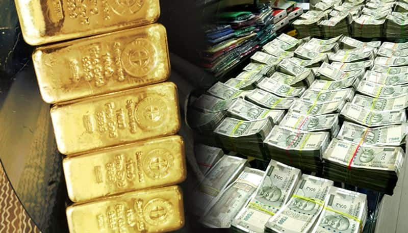 rs 3 crore amount and huge gold seized from srs travels bus in kurnool ksp