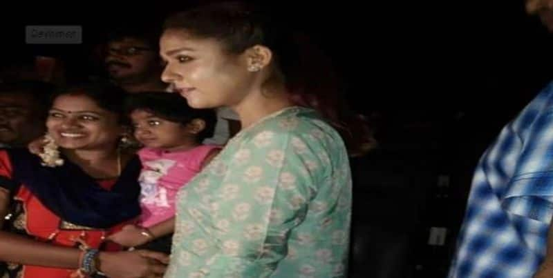 nayanthara watch 2.0 movie in sathiyam theatre