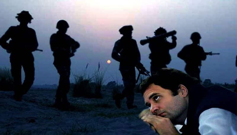 Rahul Gandhi surgical strikes Congress Narendra Modi Operation Ginger