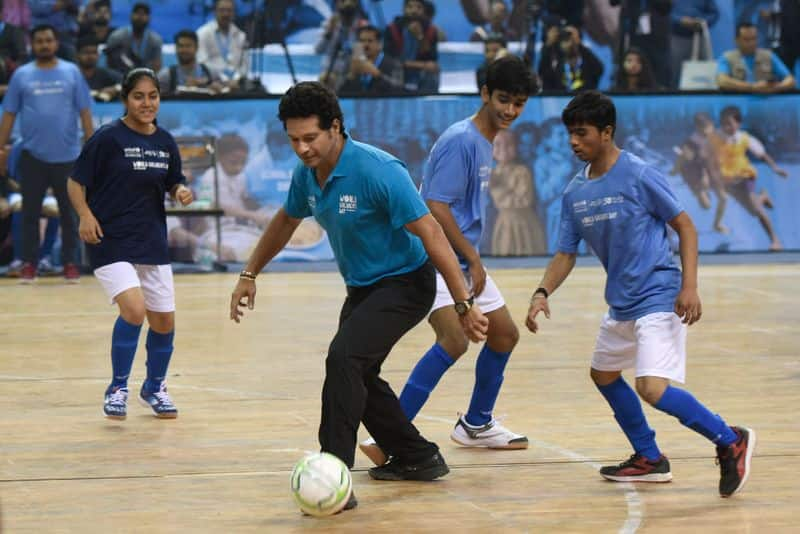 Sachin Tendulkar wants India to be fit and become sports-playing nation