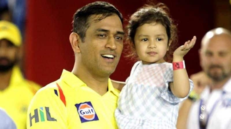 dhoni learn dance from his daughter