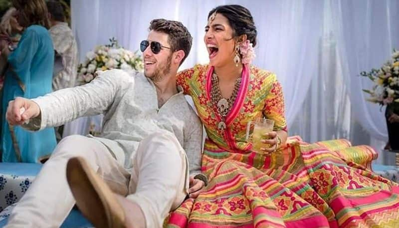 pm modi attends priyanka wedding reception