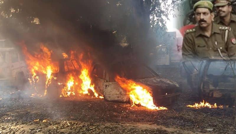 Bulandshahar on fire