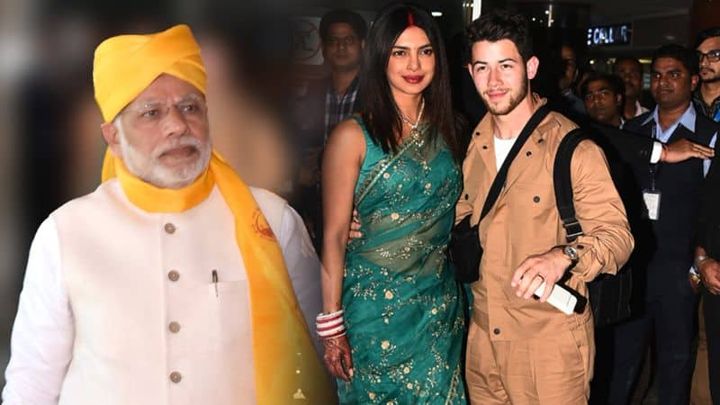 PRIYANKA NICK ARRIVE IN DELHI, PM MODI MIGHT ATTENT WEDDING RECEPTION