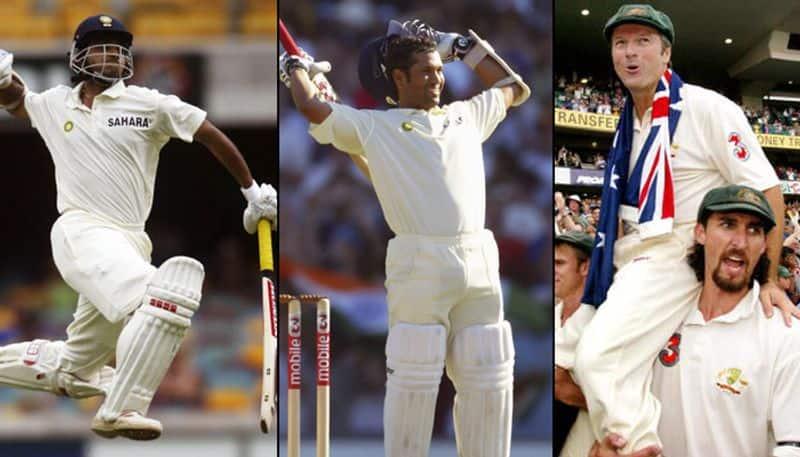 India Australia 2003 04 Sachin Tendulkar Sourav Ganguly Rahul Dravid Steve Waugh