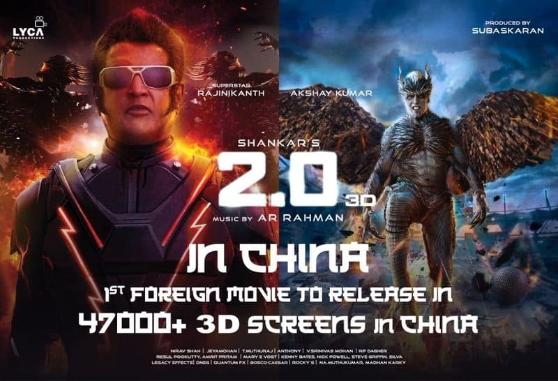47,000+ 3D screens are gearing up for #2Point0 in China!