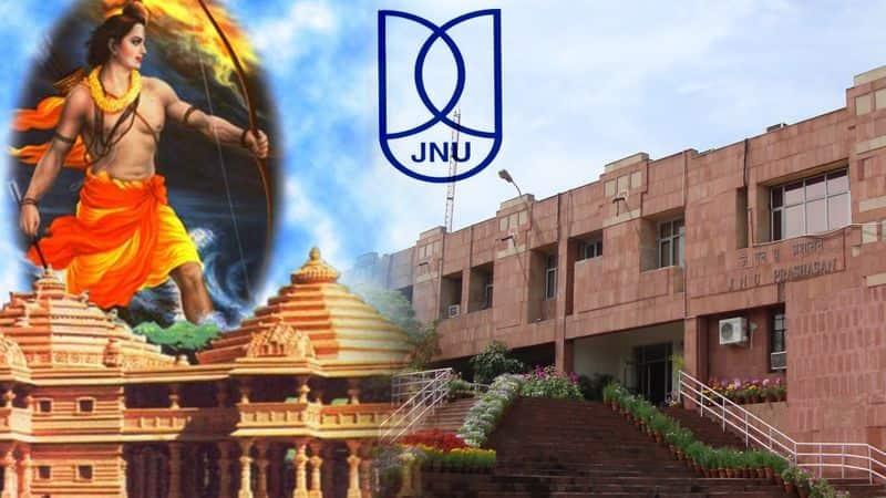 To the chagrin of JNU tukde-tukde brigade now JNU calls for Ram Mandir in Ayodhya