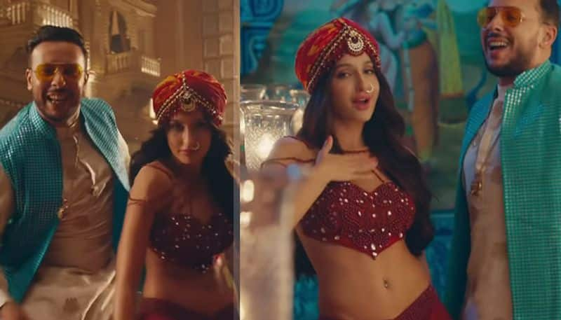viral video Nora Fatehi's Arabic version of Dilbar
