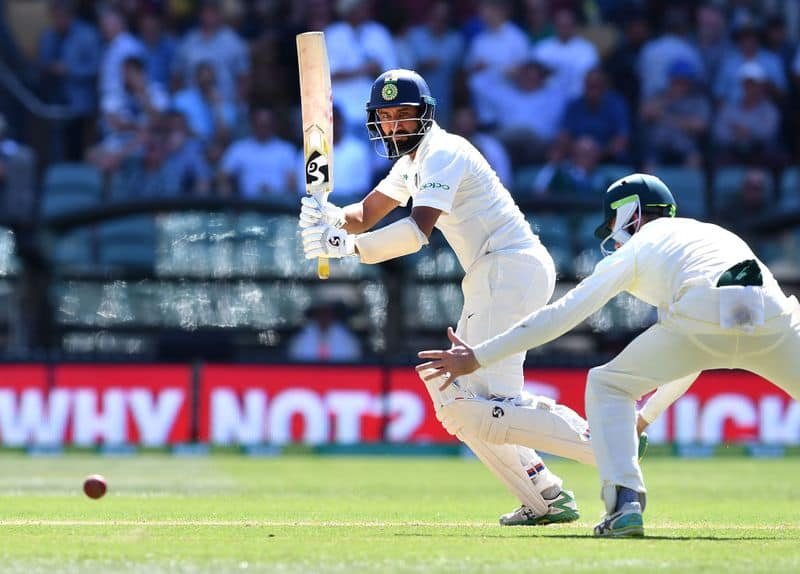 India vs Australia 1st Test: Pujara stands firm amid batting collapse; visitors 143/6 at tea on Day 1