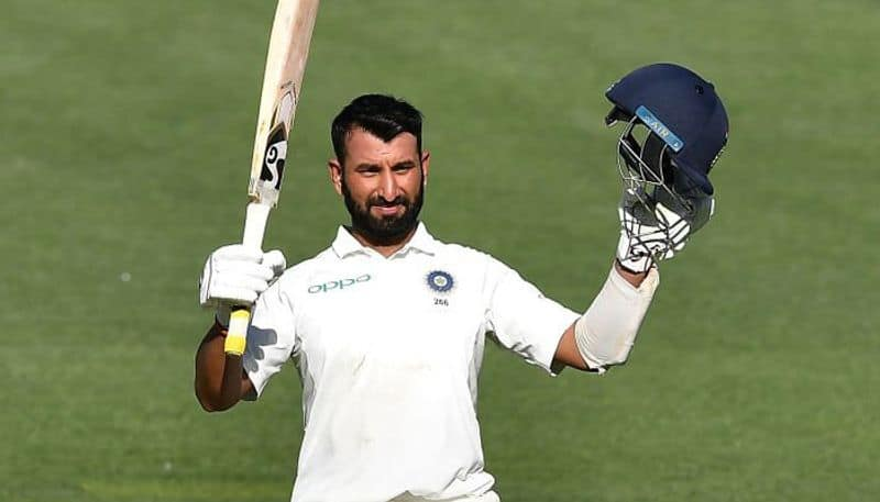 pujara batted almost half of the balls bowled in first day of adelaide test