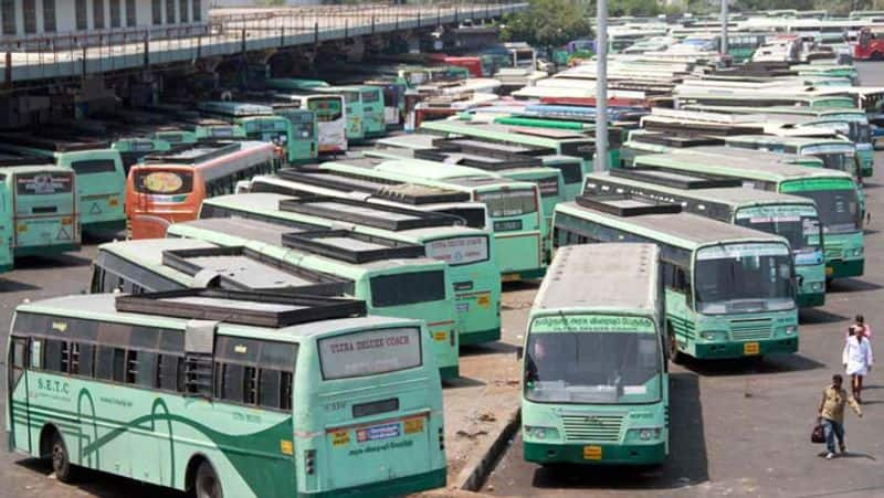 Passengers happy...government AC Buses fare reduces