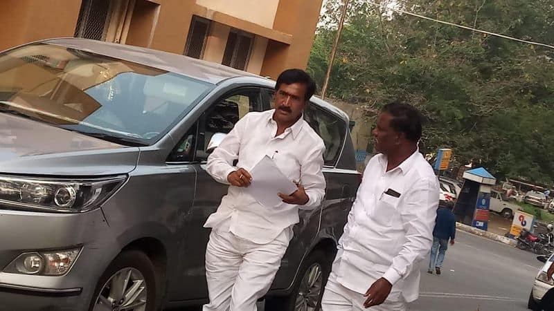 gajwel congress candidate vanter comments on votes  counting process