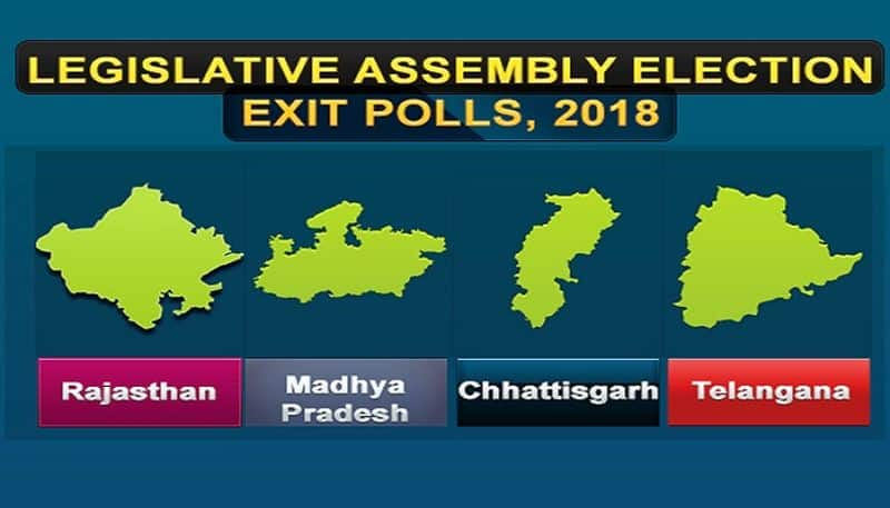 Exit poll times now jan ki baat abp india today axis cvoter newsx cnx