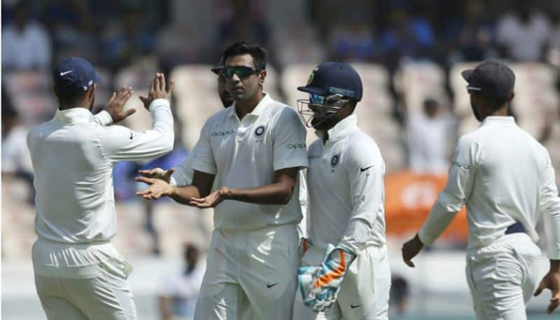 India Australia 1st Test Adelaide Ashwin delivers Day 4