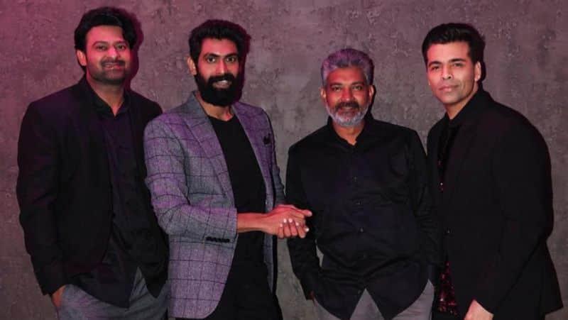 Baahubali cast takes over Koffee with Karan Prabhas, Rana Daggubati, SS Rajamouli in season 6