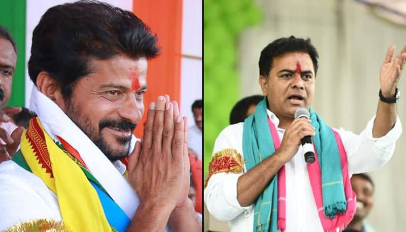 Telangana assembly election KT Rama Rao Revant Reddy quit party post results