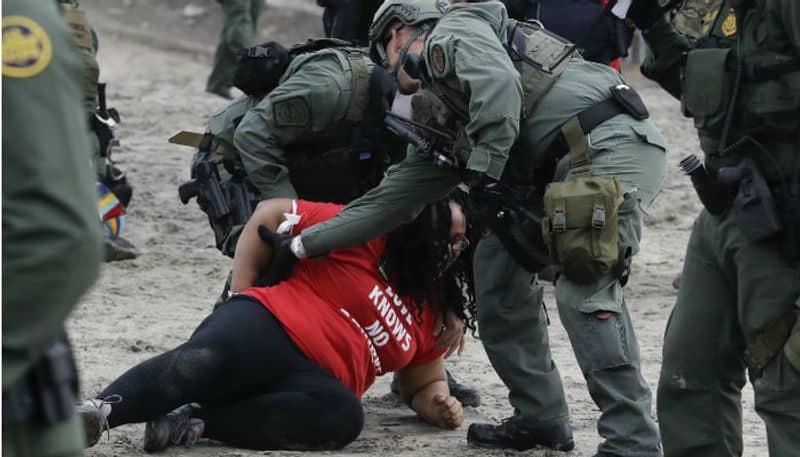 US arrests 32 at San Diego border demonstration
