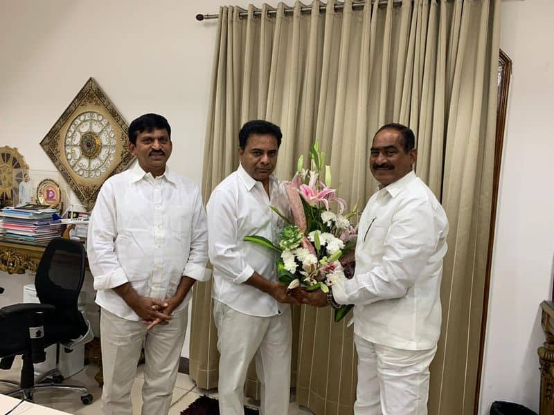 another independent mla joined trs party