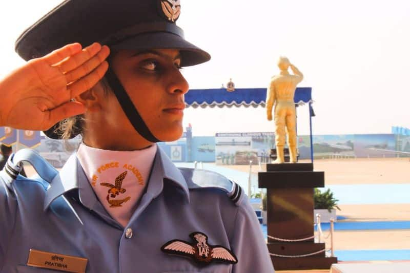 Indian Air Force celebrates women power female officers Navy Army