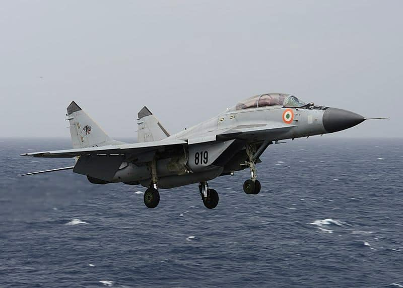 MiG-29K issues India discusses 'problems' with Russia defence minister