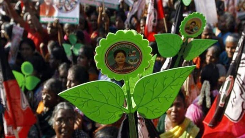 OPS EPS faction bags two leaves symbol of AIADMK