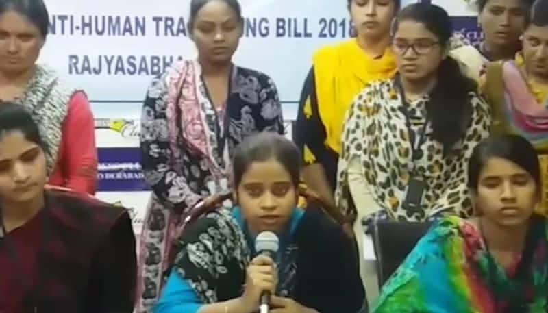Sex trafficking Telangana anti-trafficking bill Rajya Sabha