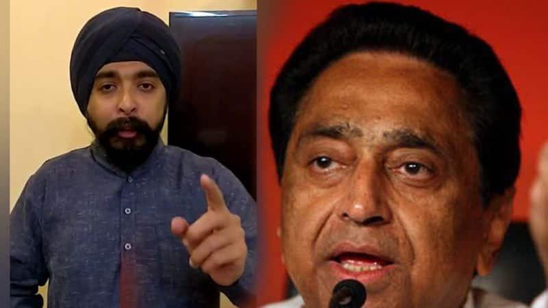 BJP leader Tajinder Bagga leads Sikh anger as Congress makes Kamal Nath Madhya Pradesh chief minister
