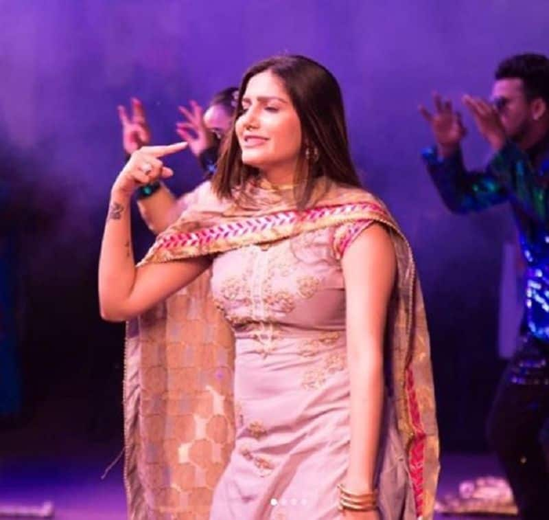 sapna chaudhary  dance on set of kanpur wale khurana's show with sunil grover, video viral