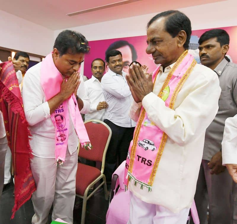 Telangana 7 constituencies TRS vote share from single to double digits