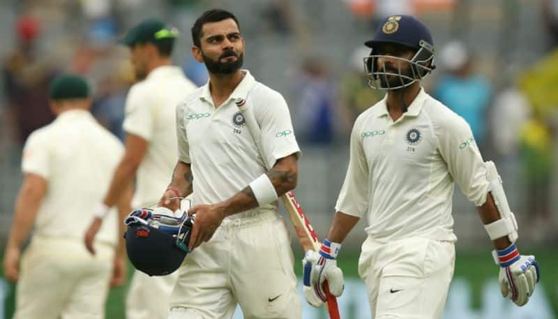 India vs Australia second Test Day two: Virat Kohli, Ajinkya Rahane Fifties Put India Ahead