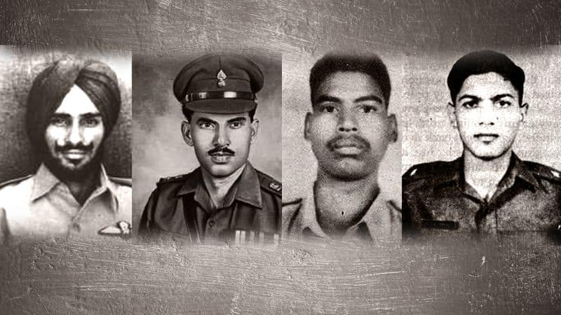 Heroes of 1971 war tribute Param Virs nation crushing victory Pakistan