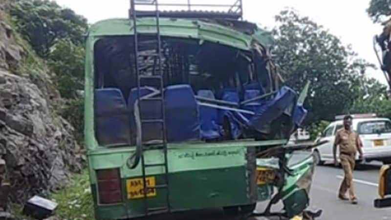 Government bus accident