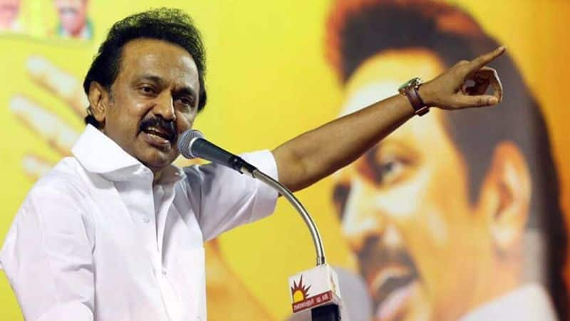 stalin conveyed new year wishes to their dmk supporters