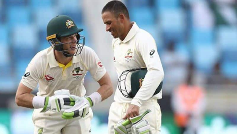 khawaja playing well and australia in strong position in fourth day of perth test