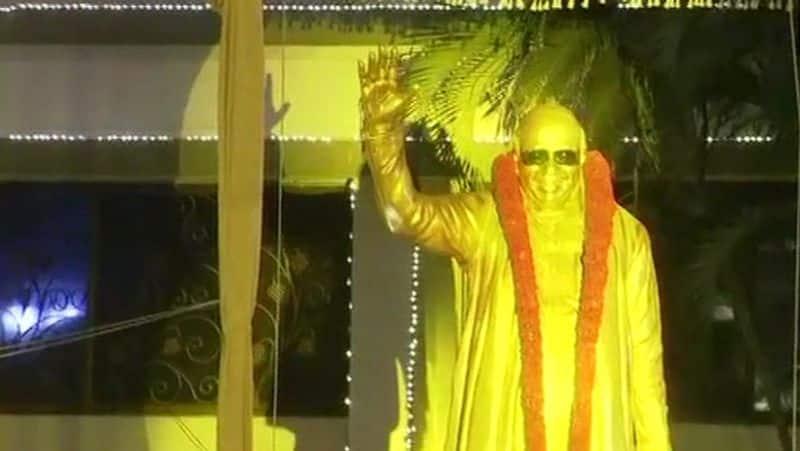Karunanidhi Statue opening in soniagandhi