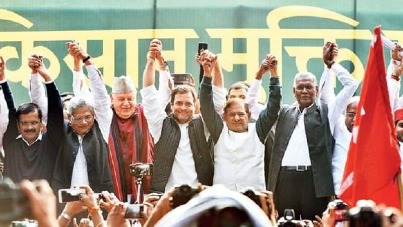 SP and BSP refused Rahul leadership in MAHGATHBANDHAN, SP and BSP keep distance from Oath ceremony in three states