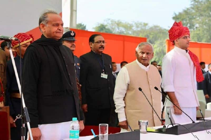 rajasthan cabinet ministers oath ceremony