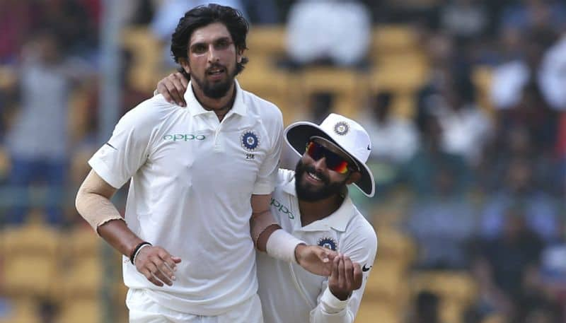 India Australia 2nd Test teammates Ishant Sharma Ravindra Jadeja fight video Perth