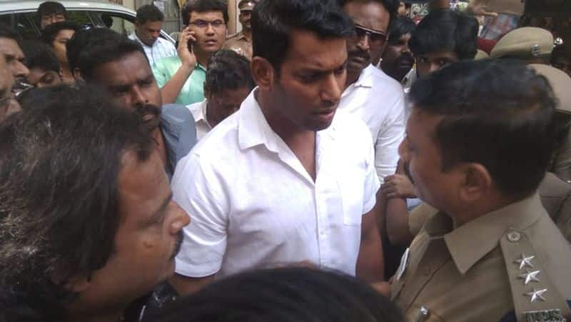 mansoorlikan arrest for producer council protest