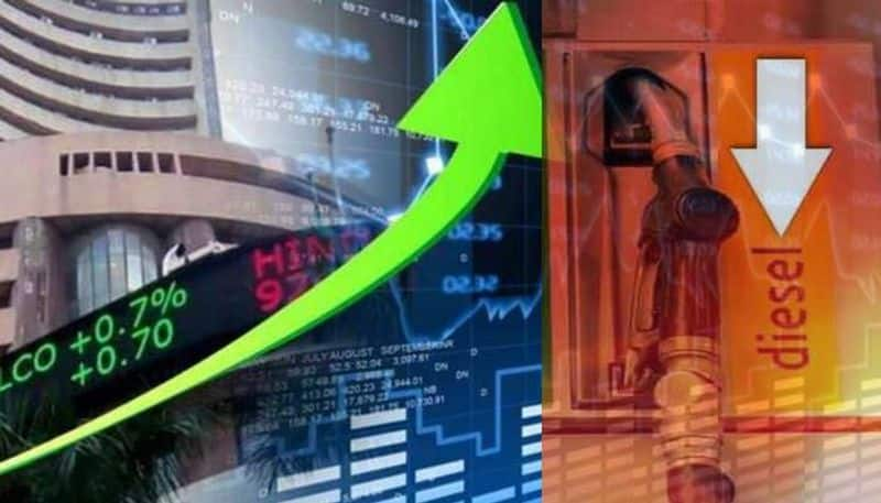 sensex and nifty reading goes high today