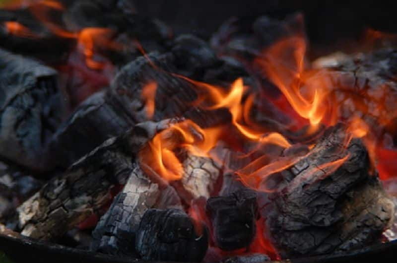 Mother son Hyderabad dies suffocation smoke from charcoal fire
