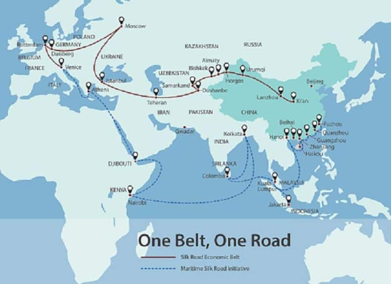 China Belt and Road plan Indian military motive concern Pakistan