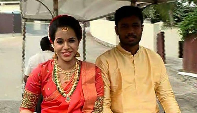 Indian cricketer Sanju Samson marries long-time girlfriend