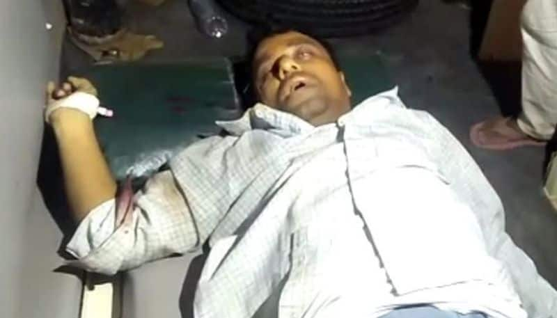 Village Accountant crushed to death by  sand mining mafia in Raichur District