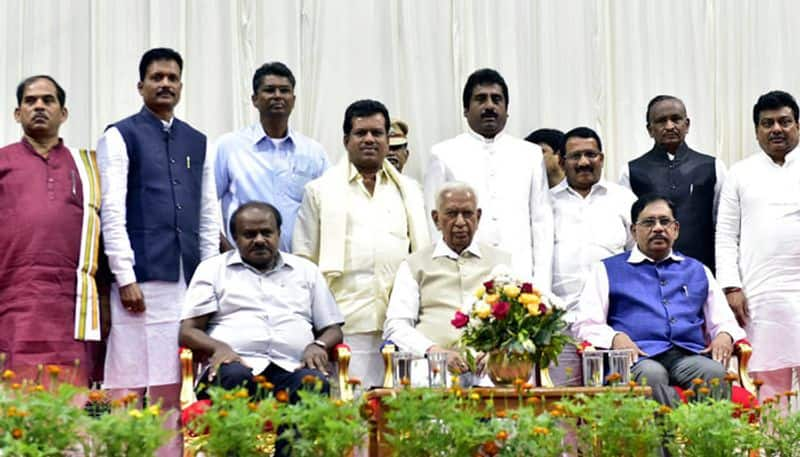 Karnataka CM HD Kumaraswamy Expands His Cabinet With 8 Ministers